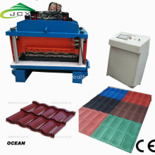 China Factory for Roof And Floor Tile Making Steel Sheet Roof  Roll Forming Machine supply to United States Wholesale